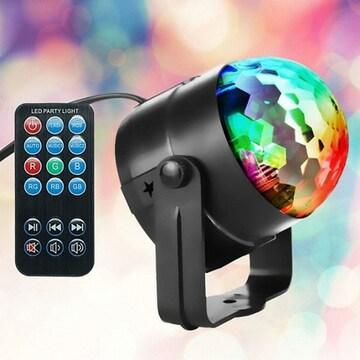 판다인터내셔널 사운드판다 LED 홈 파티 미러볼