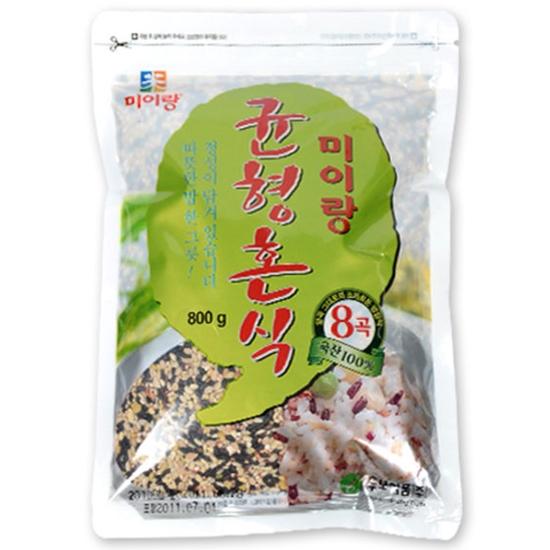 두보식품 미이랑 8곡 균형혼식 800g(5개)