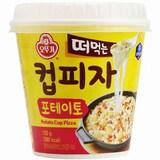 [간편간식] 오뚜기 컵피자 포테이토