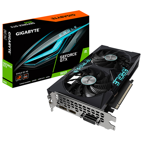 GIGABYTE 지포스 GTX 1650 EAGLE OC D6 4GB