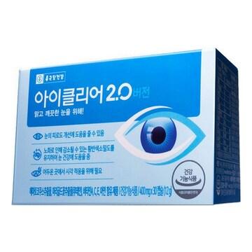 종근당건강 아이클리어 2.0 버전 30캡슐(1개)