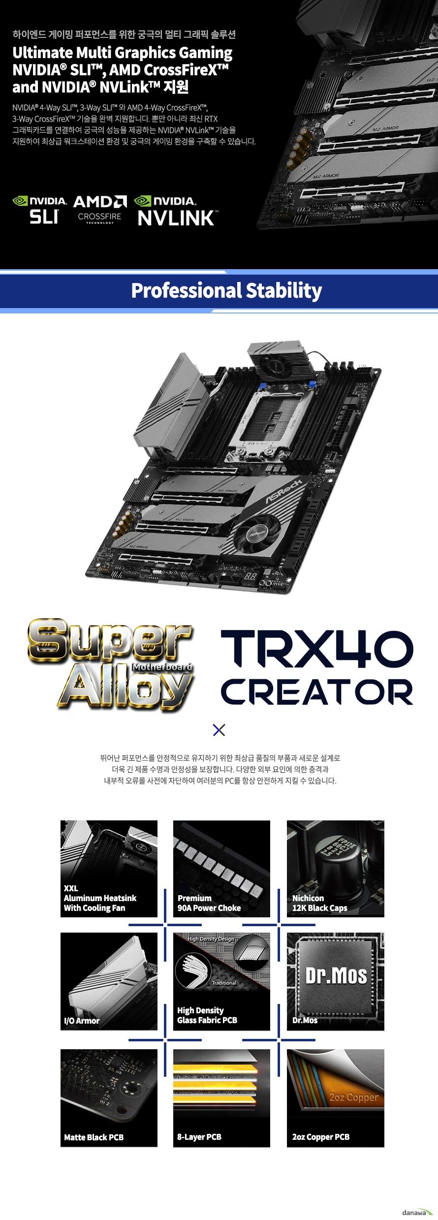 ASRock  TRX40 CREATOR 에즈윈