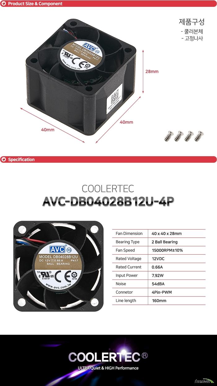 AVC DB04028B12U-4P