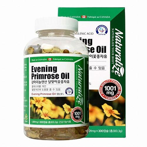 네추럴라이즈 감마리놀렌산 달맞이꽃종자유 300캡슐(1개)
