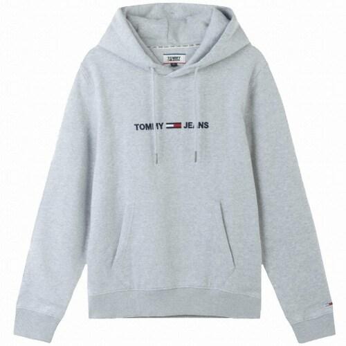 타미진 남녀공용 로고 후드 티셔츠 T31J7TTO028MT6 P01_이미지