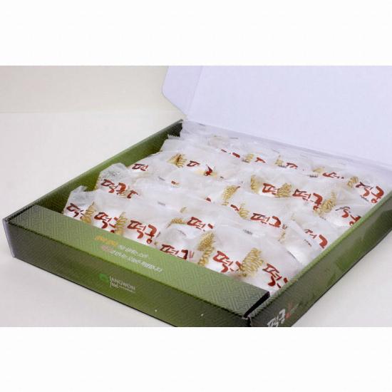 장원식품 떡궁 찹쌀떡 30구 기획 선물세트 1.5kg(1개)