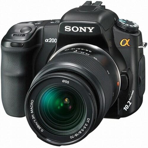 SONY 알파 A200 (18-70mm + 75-300mm)_이미지