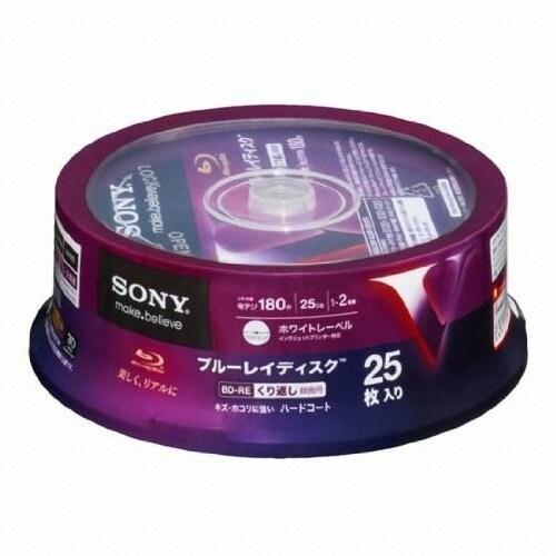 SONY  BD-RE 25GB 2x 케익 (해외구매, 25장)_이미지