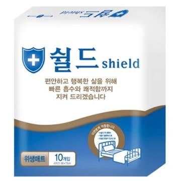 다산하이젠 쉴드 위생매트 10개(20팩(200개))