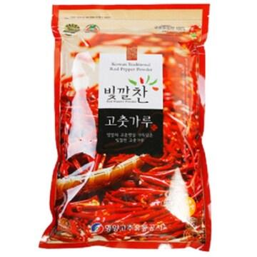 영양고추유통공사 빛깔찬 고춧가루 김치용 매운맛 1kg (20년산) (1개)_이미지