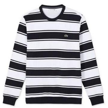 동일드방레 라코스테 남성 스트라이프 맨투맨 스웨트 셔츠 SH087E-17C (네이비)