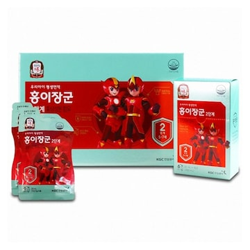KGC인삼공사 정관장 홍이장군 2단계 키즈 20ml 30포 (1개)
