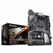 GIGABYTE B450 AORUS ELITE 제이씨현 - AMD 50주년 한정판매