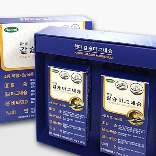 한미헬스케어 칼슘 마그네슘 180정 2개입 세트 (4개)_이미지