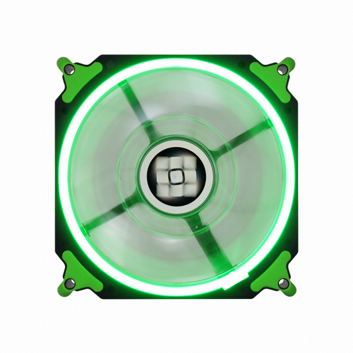 마이크로닉스 TEMPEST Ring Dual Impeller 120 (Green)