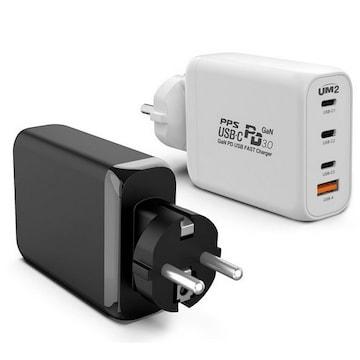 아임커머스 UM2 USB-PD PPS/QC4+ 120W 4포트 GaN 접지형 충전기 130PDGAN