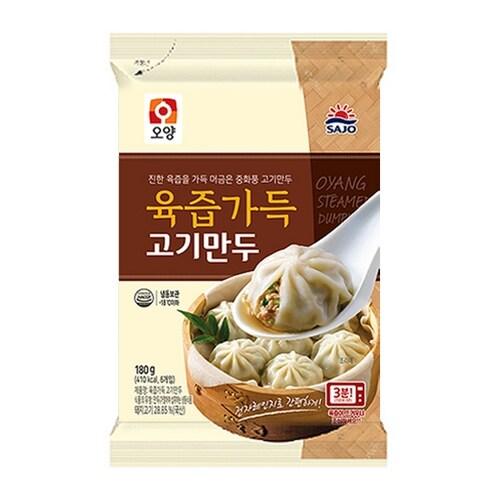 사조오양 육즙가득 고기만두 180g (2개)_이미지