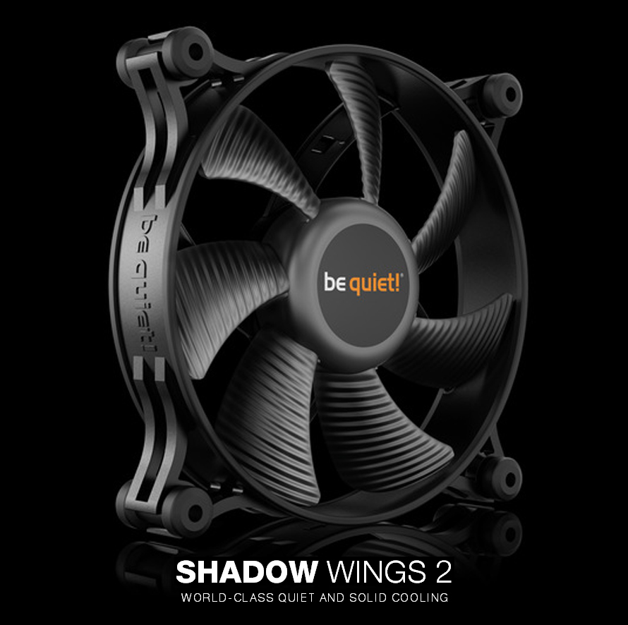 be quiet  SHADOW WINGS 2 PWM(120mm)