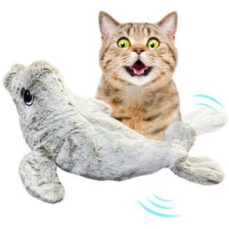 펫케어 춤추는물개 고양이용_이미지