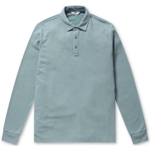 브렌우드 남성 Mixell 소프트 카라 티셔츠 BRTAA19412MIX_이미지