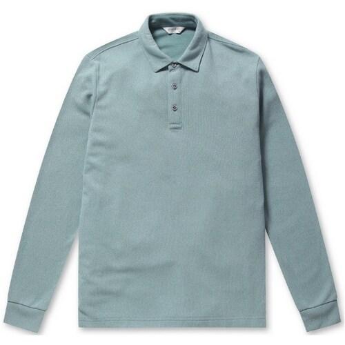 브렌우드 Mixell 소프트 카라 티셔츠 BRTAA19412MIX_이미지