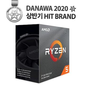AMD 라이젠5-3세대 3600 (마티스)(정품)