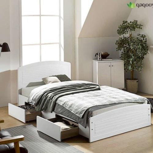 대영디자인 가구야 725 서랍형 침대 슈퍼싱글 (SS) (매트별도)_이미지