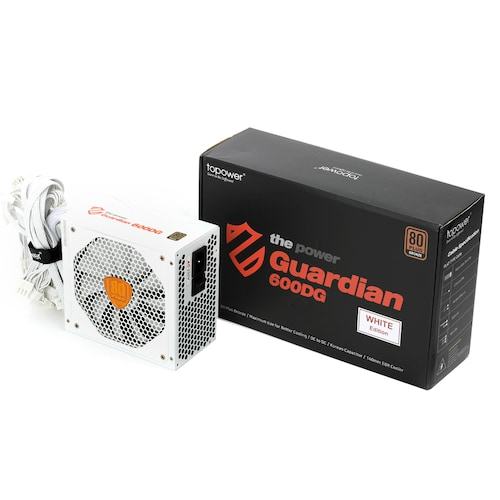 topower Guardian TOP-600DG Single Rail 80PLUS BRONZE WHITE