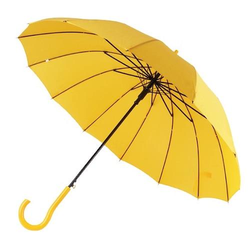 바니브라운 비오니 14K 솔리드 곡자 자동 장우산_이미지
