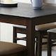 아씨방 케이트 화산석 식탁세트 (의자2개+벤치1개)_이미지
