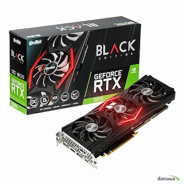이엠텍 지포스 RTX 2070 BLACK EDITION OC D6 8GB