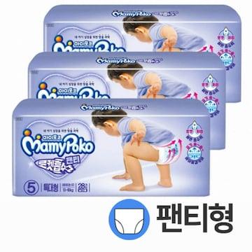 마미포코  로켓흡수 팬티 특대형 남아 (168매)