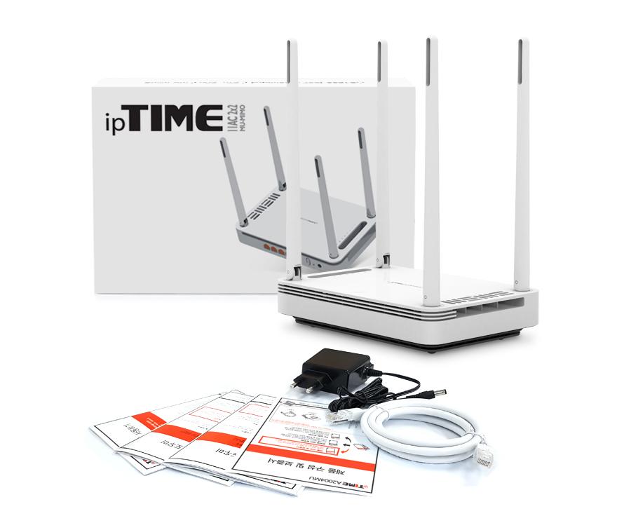 EFM ipTIME A2004MU 유무선공유기