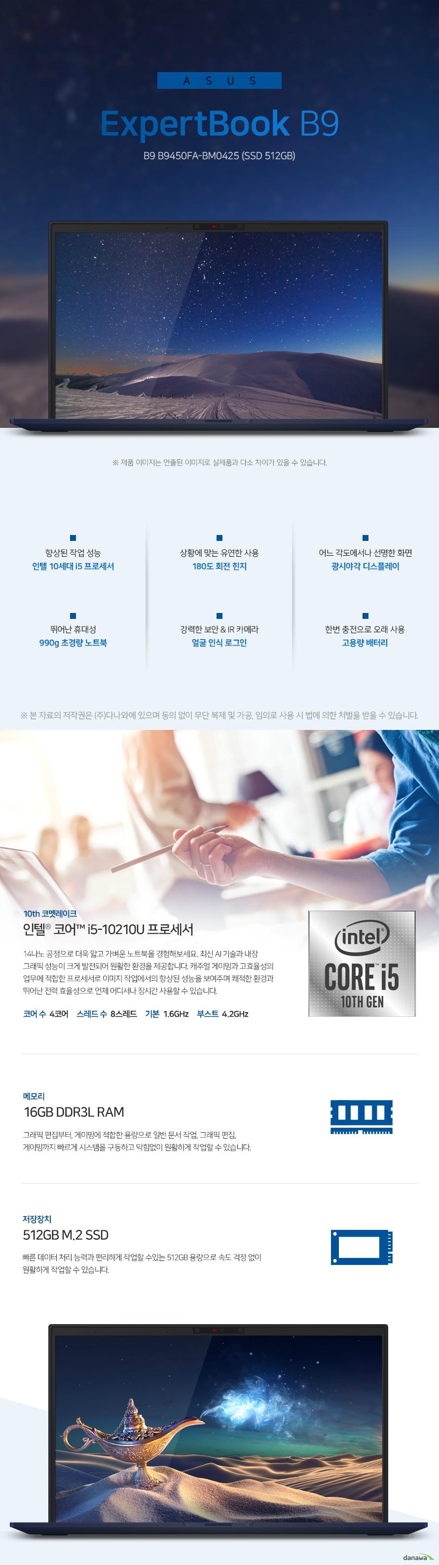 ASUS ExpertBook B9 B9450FA-BM0425 (SSD 512GB)