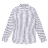 더베이직하우스 베이직하우스 여성 레이온패턴 셔츠형 블라우스 HSBL3202_이미지