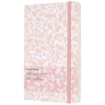 몰스킨 19 벚꽃 리미티드 에디션 노트 플레인 화이트 라지