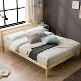 룸앤홈 노드 원목 침대 퀸 (Q)