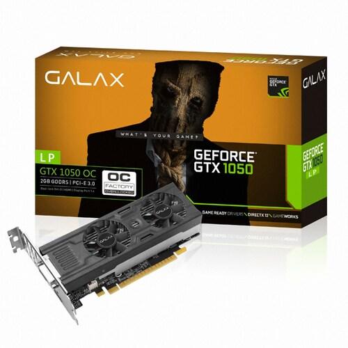 갤럭시 GALAX 지포스 GTX1050 OC D5 2GB LP_이미지