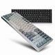 ABKO  AR96 축교환 CNC 풀 알루미늄 키보드 (실버, 저소음 적축)_이미지