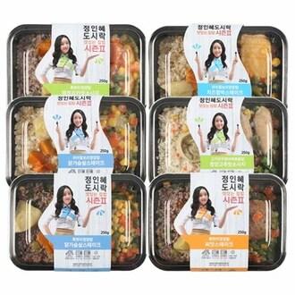 나마시떼 정인혜 집밥도시락 맛좀볼래 시즌2 (6팩)_이미지