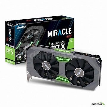 이엠텍 지포스 RTX 2060 SUPER MIRACLE V2 D6 8GB