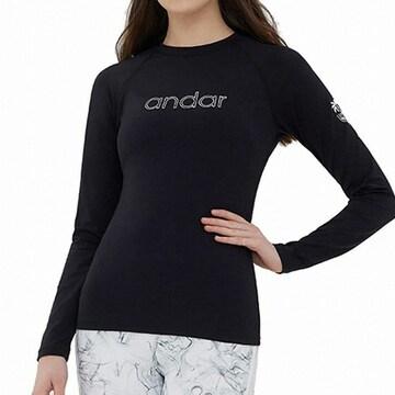 안다르 AITT-10306 루아 래쉬가드 블랙