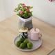 아씨방 쿠쿠 접이식 식탁세트 (의자2개)_이미지