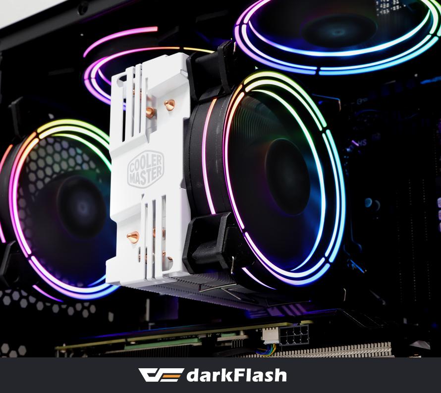 darkFlash CF11 PRO ARGB REMOTE COMBO KIT