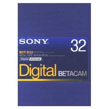 SONY BCT-D32 Betacam 32분 10EA DV테이프_이미지