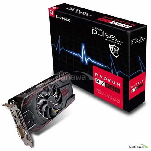 SAPPHIRE 라데온 RX 560 OC D5 4GB PULSE