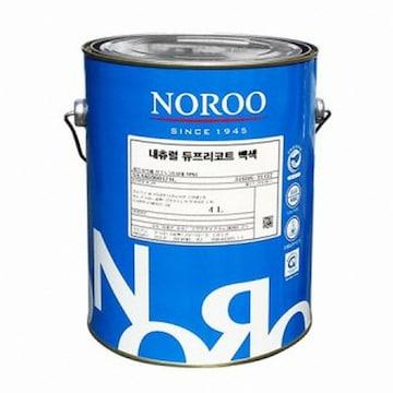 노루페인트 내츄럴 듀프리코트 백색 페인트(1L)