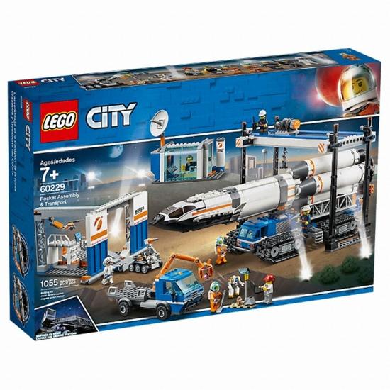 레고 시티 로켓 조립과 운송 (60229) (정품)