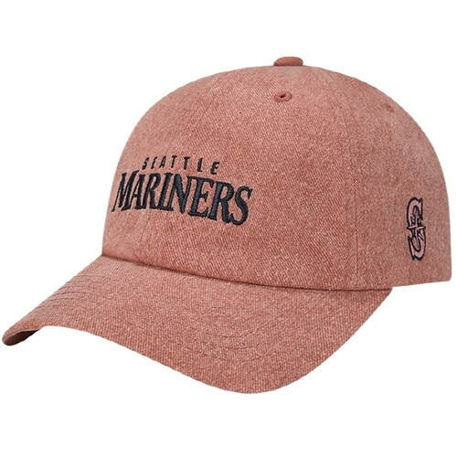 MLB  빈티지 슬라이더 커브조절캡 볼캡 시애틀 매리너스 32CPRE811-52E_이미지