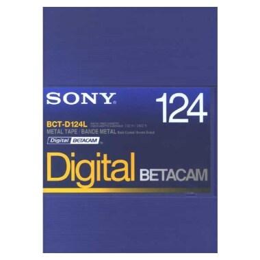 SONY BCT-D124L Betacam 124분 DV테이프 (10개)_이미지